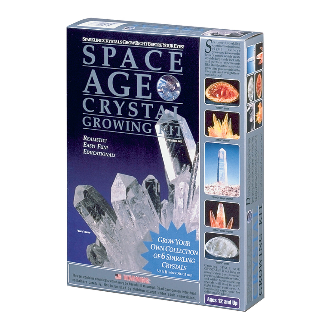 Space Age Crystals® - Item 663: Grow 6
