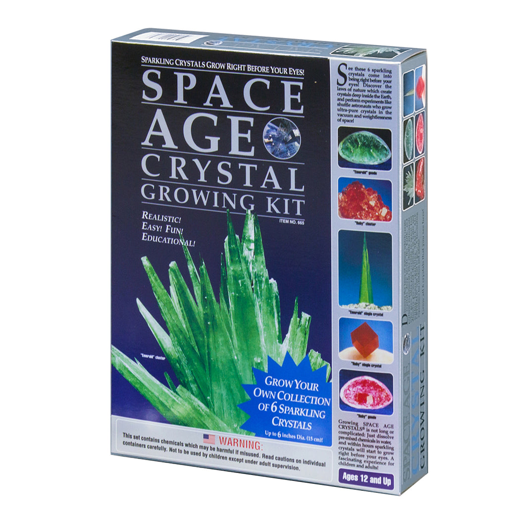 Space Age Crystals® - Item 665: Grow 6