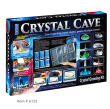 Load image into Gallery viewer, CRYSTAL CAVE ™ - Item 6122: Grow 13 sparkling Crystal Geodes, Clusters and Single Crystals