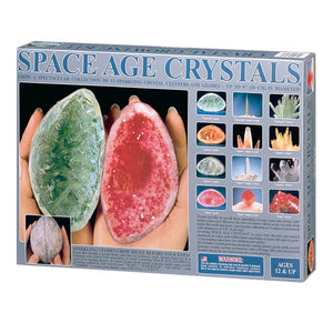 Space Age Crystals® - Item 6127: Grows 13 Geodes & Crystals