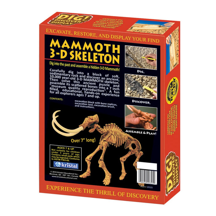 DIG! & DISCOVER™: 3-D Mammoth