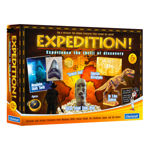 Expedition!™ - Item 8126:  Discover 5 Treasures from Around the World