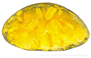 "Space Age Crystals® - Item 663: Grow 6 ""Quartz & Amber"" Geodes & Crystals"