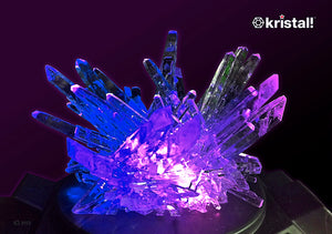 "Space Age Crystals® - Item 692: Grow ""Frozen Amethyst"""