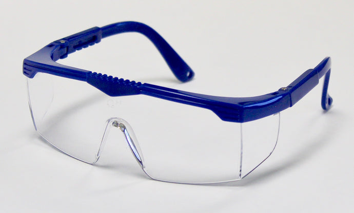 PPE Safety Glasses (polycarbonate with adjustable frame - certified)
