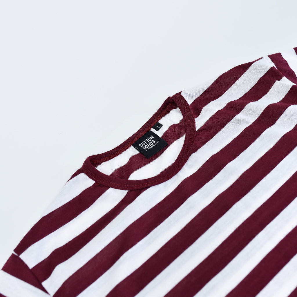 JOZO RED WHITE STRIPED TEES
