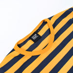 MOZA YELLOW NAVY STRIPED TEES