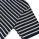 IVICA BLACK WHITE STRIPED TEES
