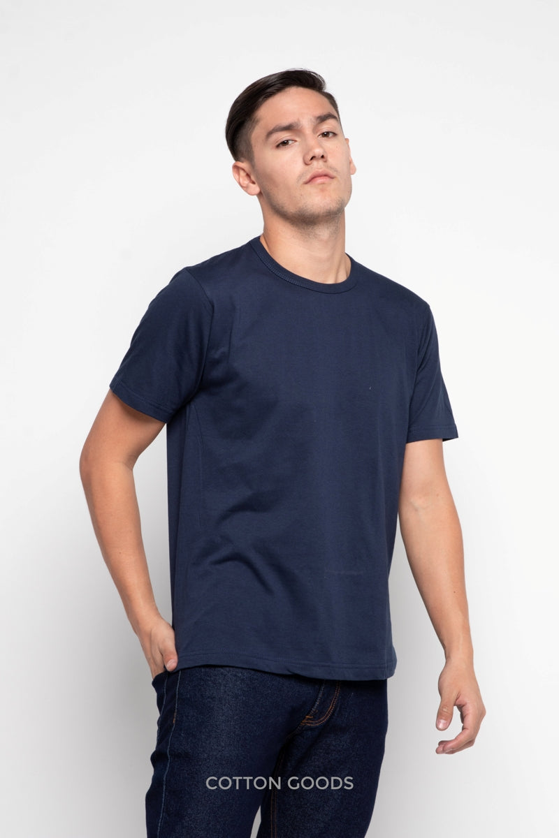 ALDRIC SAILOR BLUE BASIC TEES