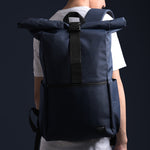 BENZA NAVY ROLLTOP BACKPACK