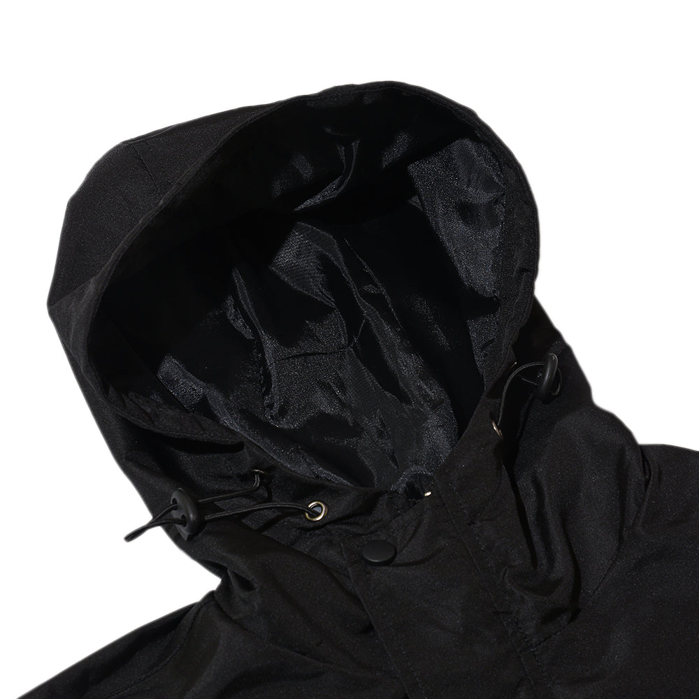 REAGAN BLACK PARKA JACKET