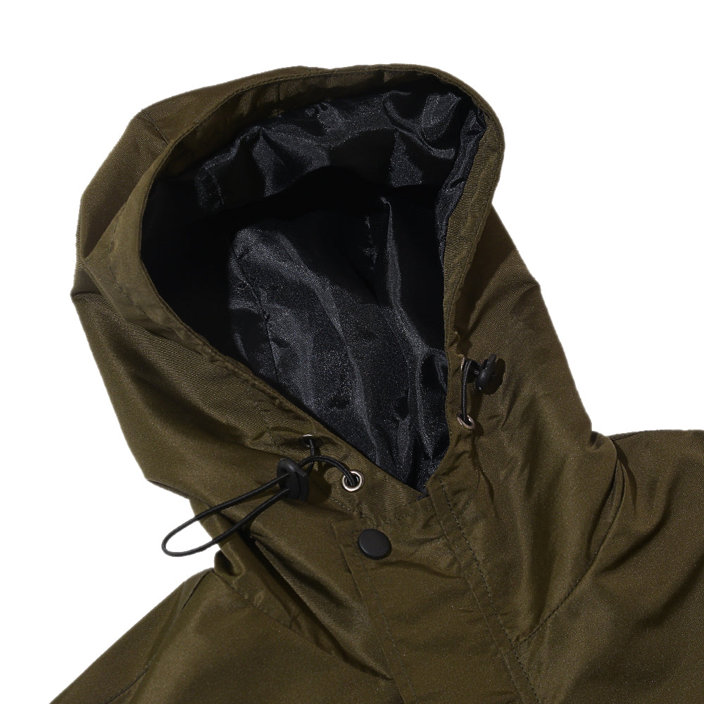 RAYBURN ARMY GREEN PARKA JACKET