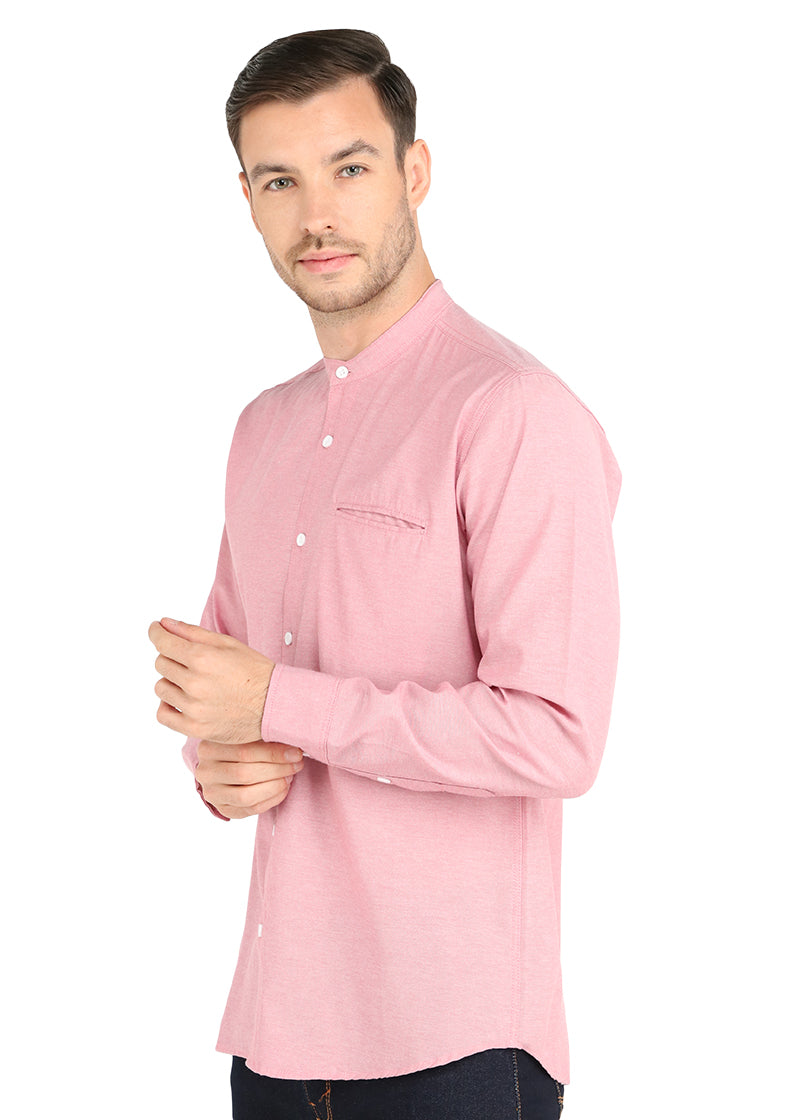 AIKEN SOFT PINK LONGSLEEVE OXFORD SHIRT