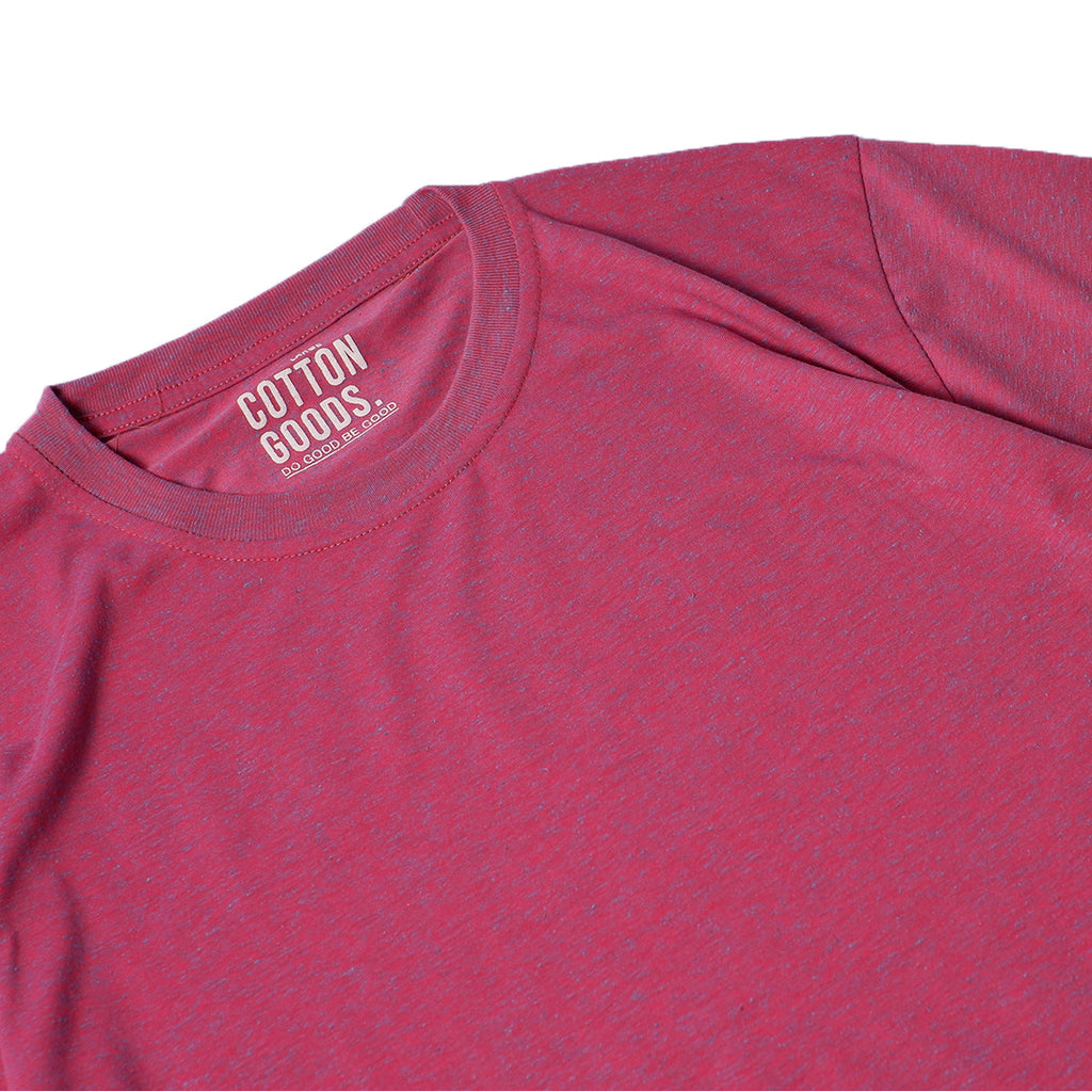 ARMEN RED TWOTONE BASIC TEES