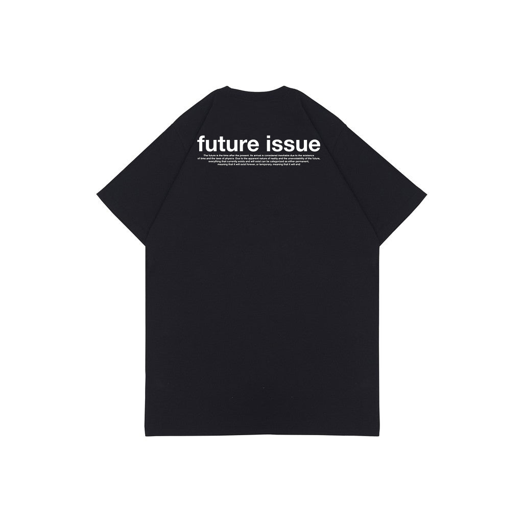 FUTURE ISSUE BLACK HW GRAPHIC OVERSIZED TEES