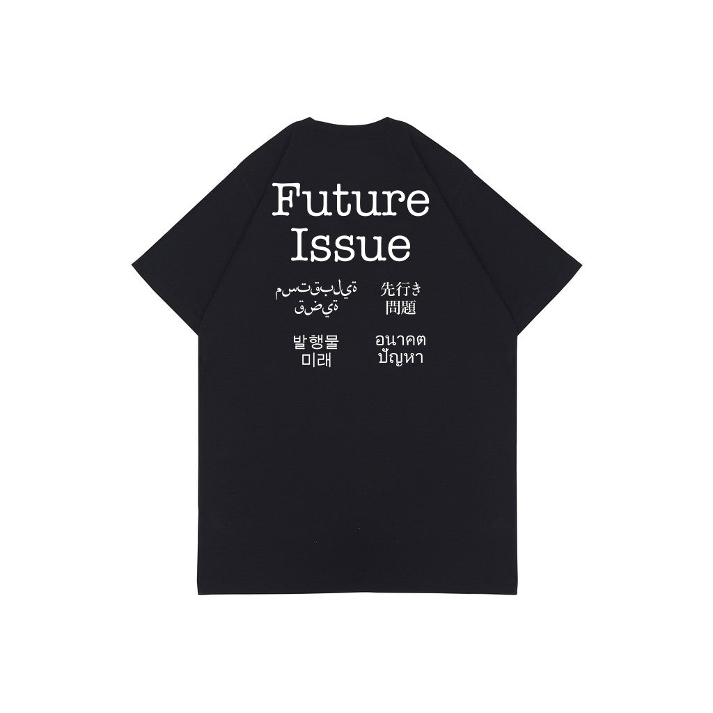 FUTURE ISSUE V2 BLACK GRAPHIC TEES