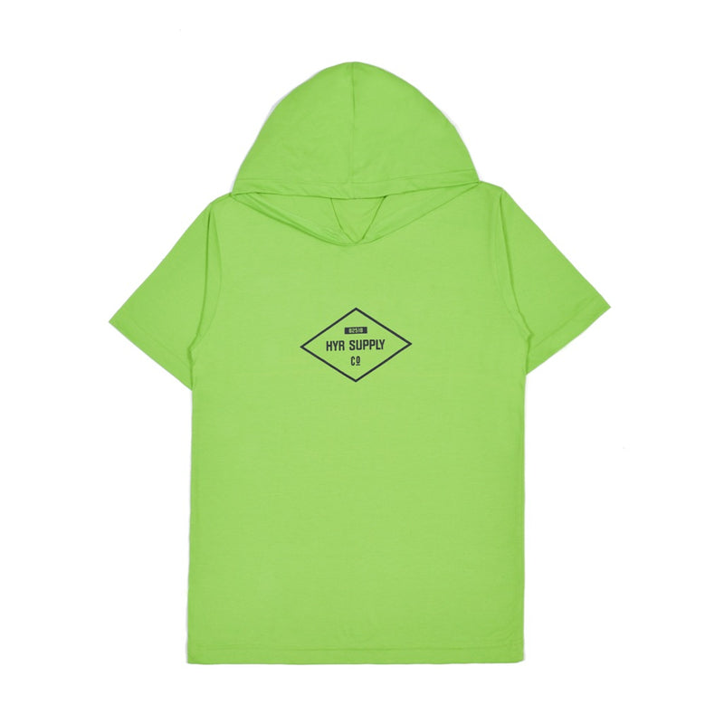 DIAMOND GREEN GRAPHIC T-SHIRT HOODIE