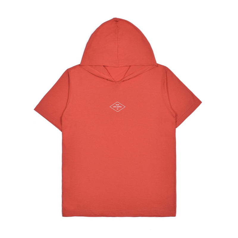 DIAMOND RED GRAPHIC T-SHIRT HOODIE