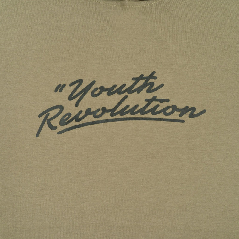 YOUTH REVOLUTION ARMY GRAPHIC T-SHIRT HOODIE