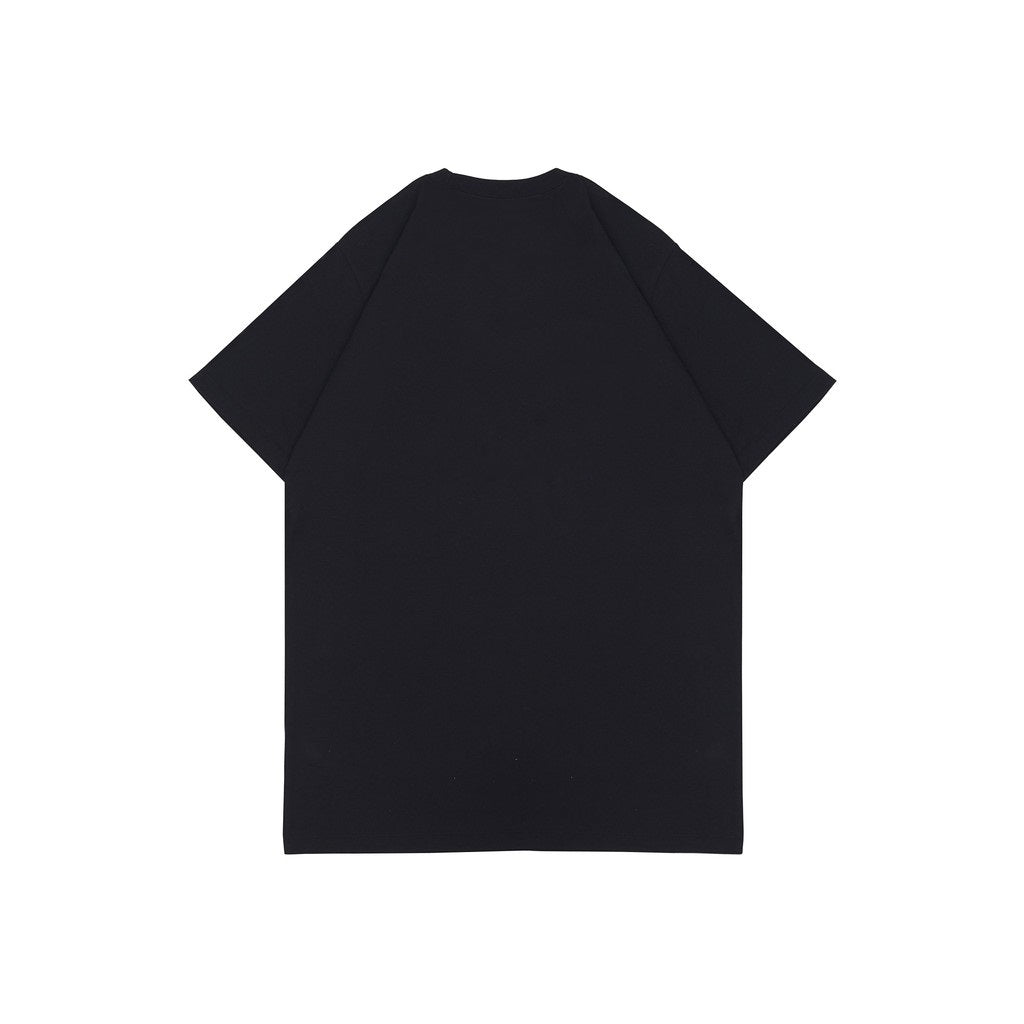 LIVING YOUTH BLACK GRAPHIC TEES