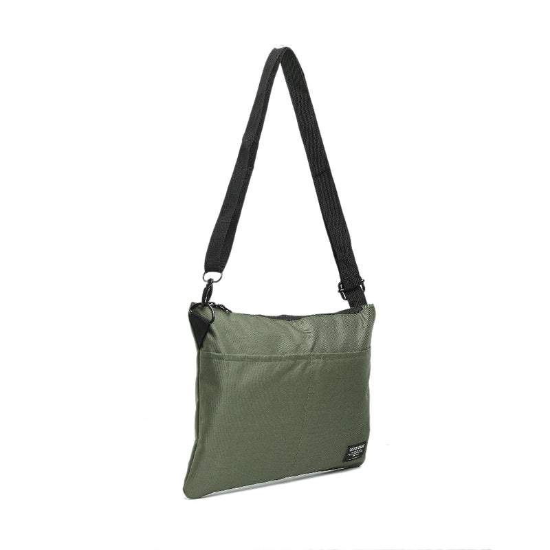 CHESTER GREEN POUCH SLING BAG