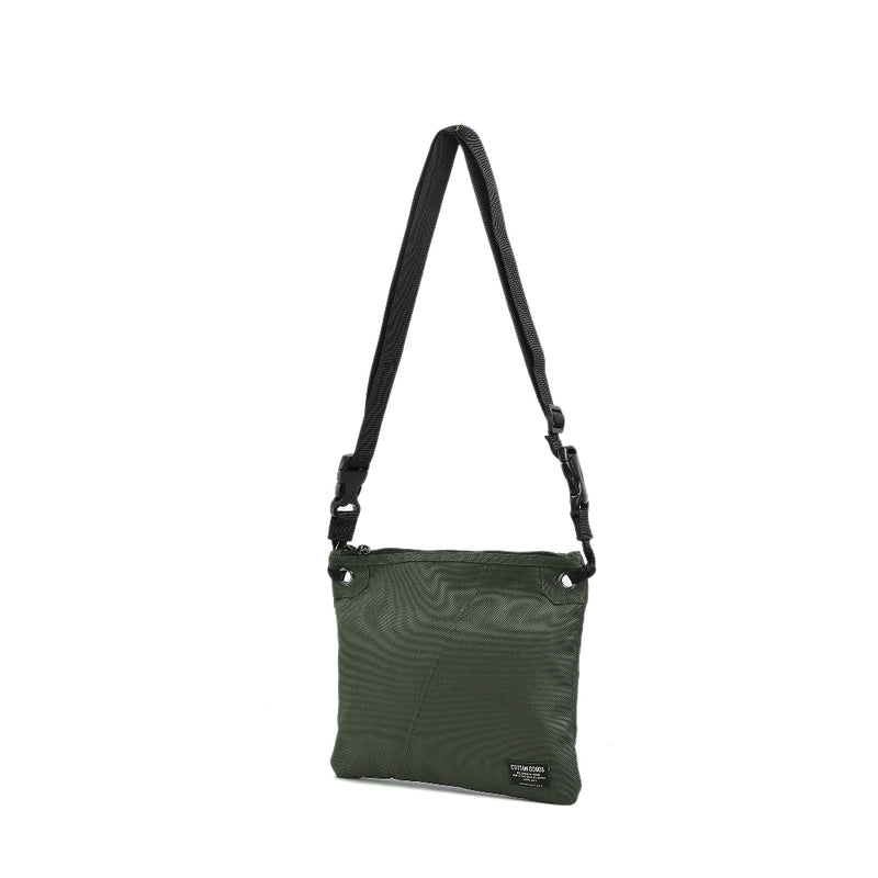 FLOYD GREEN POUCH SLING BAG