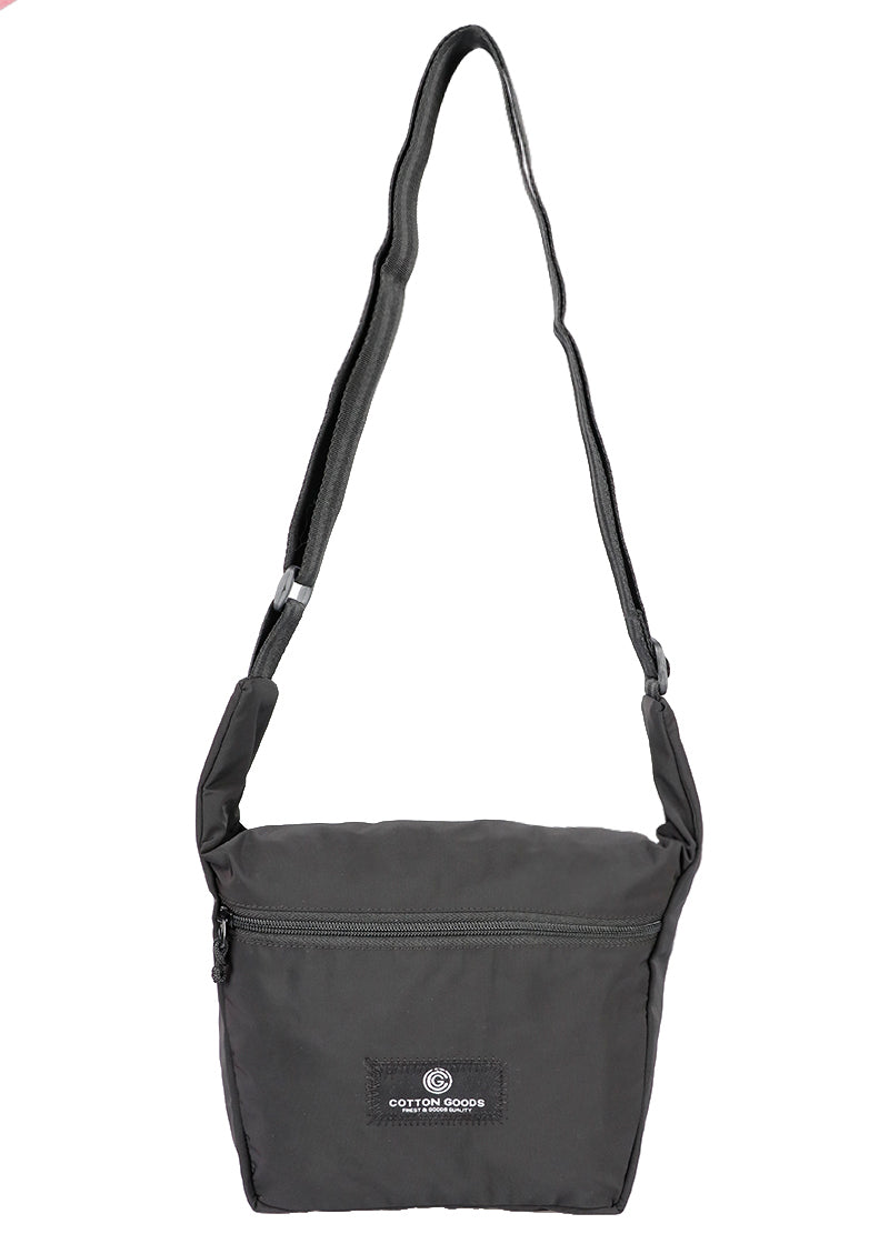 TEFARES BLACK SLING BAG