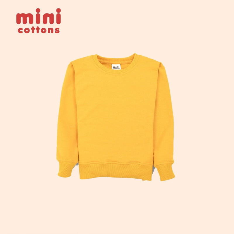 MINI COTTONS SWEATER SET ANAK HONEY LEMON