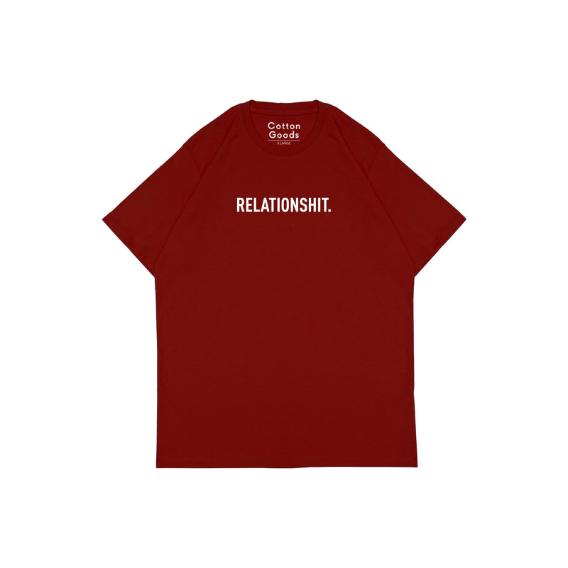 RELATIONSHIT RED GRAPHIC TEES