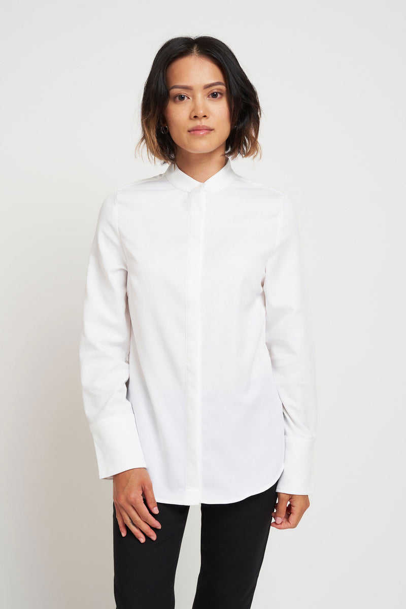 San Ramon Slim Shirt - White