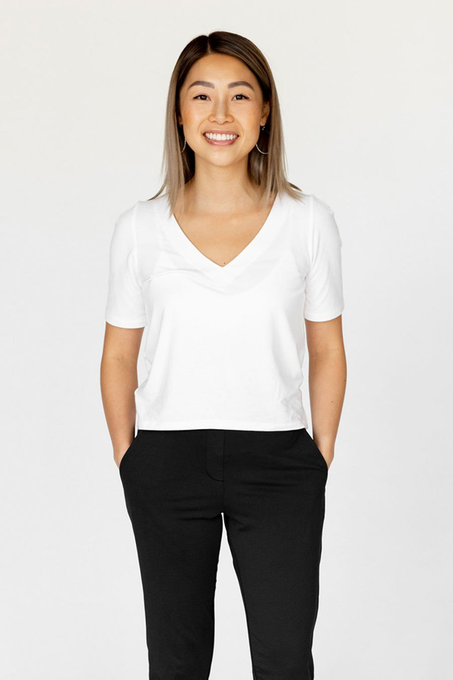 The Everyday Top - White + Black
