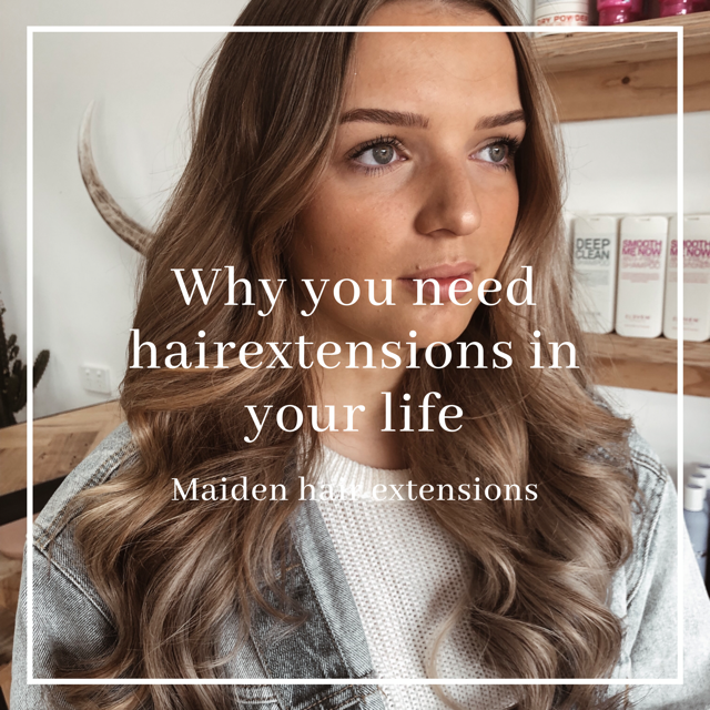 Why you need Maiden hair extensions in your life