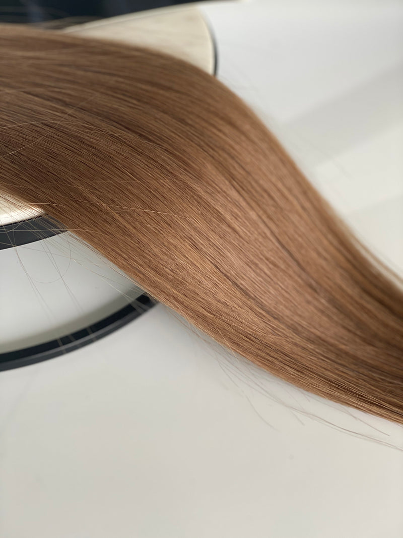 TAPE IN HAIR EXTENSIONS-8-DARK BLONDE