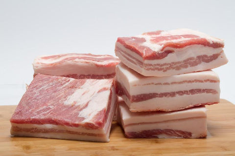 Fresh Pork Belly Full Slab Skinless
