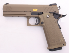 Load image into Gallery viewer, Golden Eagle 4.3 HI CAPA Full Metal Green Gas