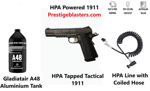 HPA Tapped Tactical 1911