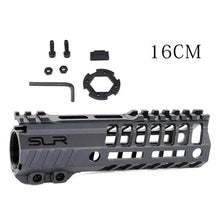 Load image into Gallery viewer, SLR Nylon Helix 6'' Black Handguard M-LOK Rails