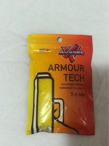 Ausgel Armour Tech Hardened Yellow Gels