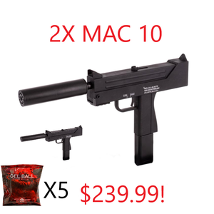 Combo Deal #1, {2 Mac 10's And Gels}