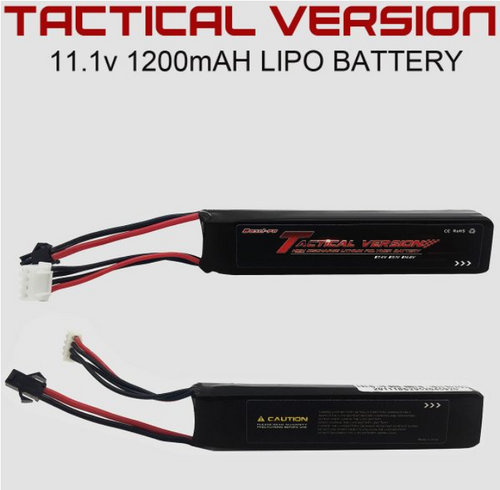 11.1v 1200mAH Tactical Version Lipo Battery