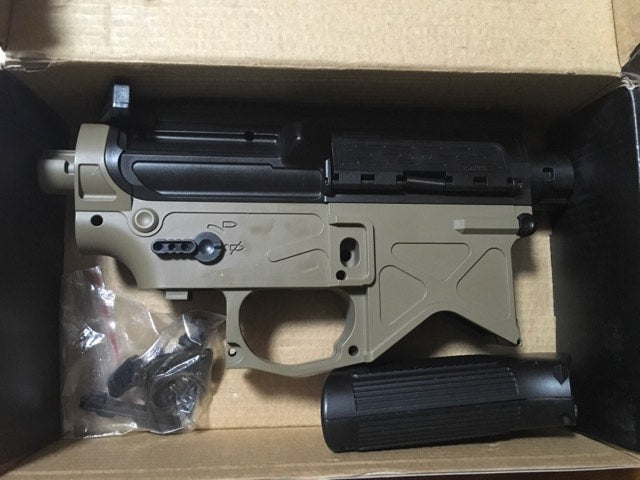 XM316 Receiver Black + Tan Colour Gen 8