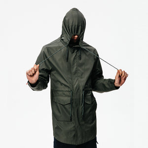 Windbreaker with hat OW18033