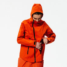 Load image into Gallery viewer, Inclined zipper water proof coat OW18032