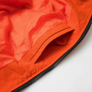 Inclined zipper water proof coat OW18032