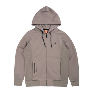The Grey Zone - KON FW2019 hoodie with zip