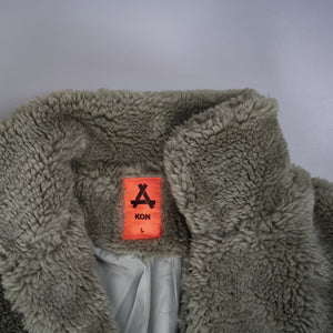 The Grey Zone - KON FW2019 furry coat