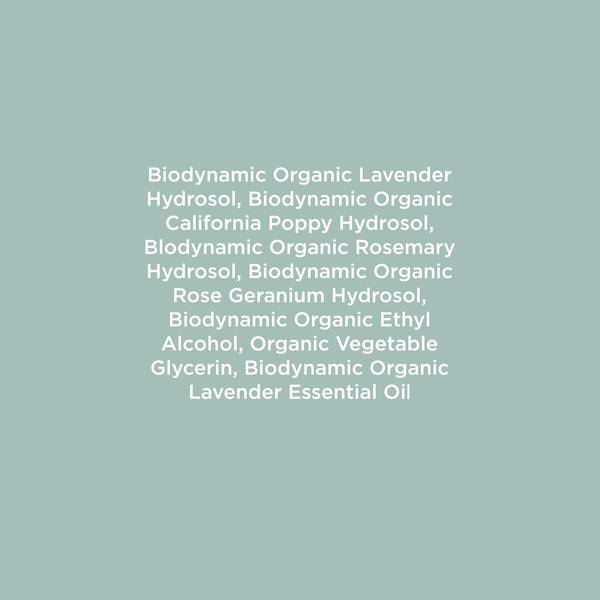 Biodynamic Face & Body Mist
