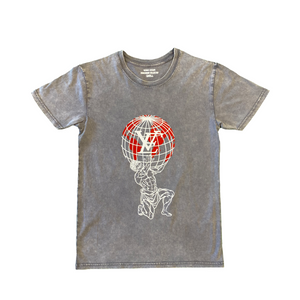 Atlas Tee - Acid Wash
