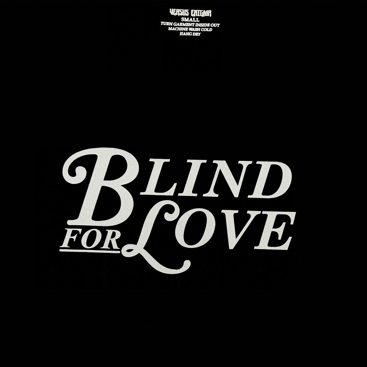 Blind For Love Cropped tee