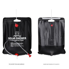 Outdoor Hiking Camping Solar 40L Portable Shower